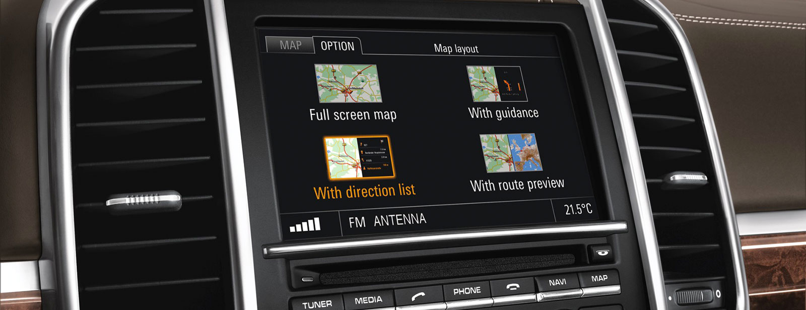 Navigationsupdate von Porsche Tequipment